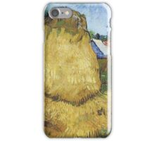 Vincent Van Gogh - Haystacks In Provence, 1888 iPhone Case/Skin