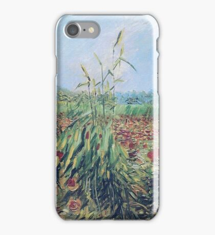Vincent Van Gogh - Green Ears Of Wheat, 1888 iPhone Case/Skin