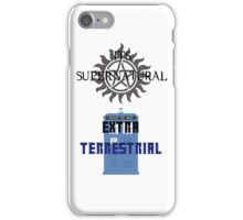 Its supernatural Dr who iPhone Case/Skin
