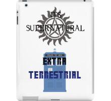 Its supernatural Dr who iPad Case/Skin