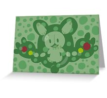 Pokemon Black and White Reuniclus Greeting Card