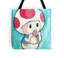Watercolor Toad (Mario games) Tote Bag