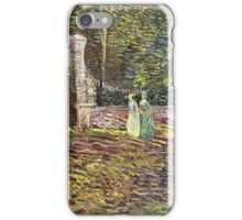 Vincent Van Gogh - Entrance To  Park At Voyer-Dargenson In Asnieres, 1887 iPhone Case/Skin