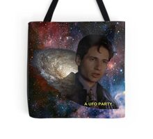 Spaced Out Mulder Tote Bag