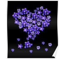 Love Flores Poster