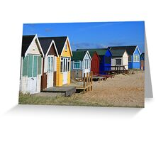 Hit The Hut! Greeting Card