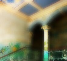The Stairwell of the historical Clinic seen through a soft lens..... by Imi Koetz