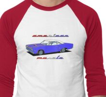 American Muscle - Roadrunner Men's Baseball ¾ T-Shirt