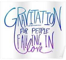 Einstein: Gravitation Poster