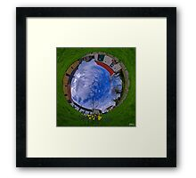Hanna's Close, County Down (Sunny sky In) Framed Print