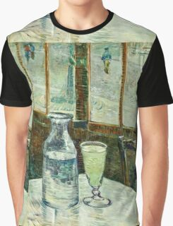 Vincent Van Gogh - Cafe Table With Absinth  Graphic T-Shirt