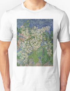 Vincent Van Gogh - Blossoming Chestnut Branches 1890 Unisex T-Shirt