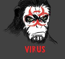 Simian Virus by Justin Valdivia