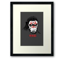 Simian Virus Framed Print