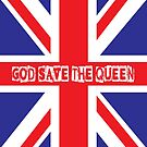 God Save the Queen by monsterplanet