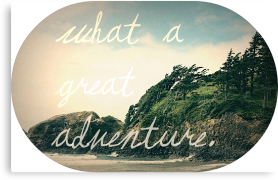 What a Great Adventure by Leah Flores