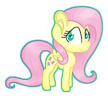 Fluttershy Chibi Photographic Print