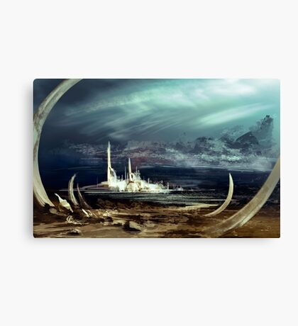 The March of Progress Canvas Print
