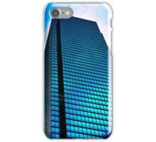 Blue Dallas Building iPhone Case/Skin