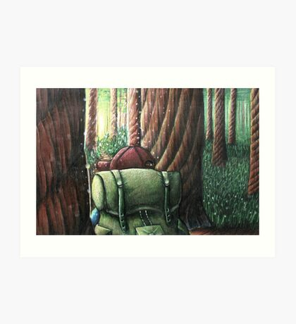 Forest of Giants Art Print