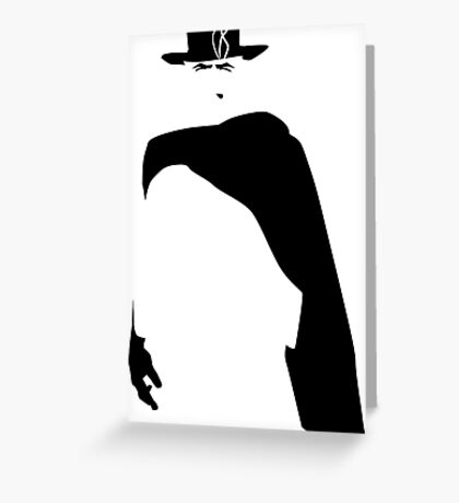 The Man With No Name Greeting Card