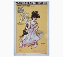 Performing Arts Posters Brady Ziegfeld present Mlle Fifi adapted from the French by Leo Ditrichstein 1124 Kids Tee