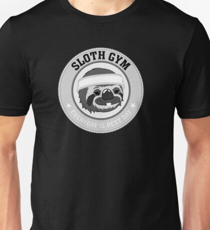 Sloth Gym Unisex T-Shirt