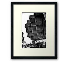 Detroit Blocks Framed Print
