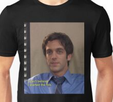 ryan started the fiya  Unisex T-Shirt