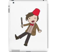 Cartoon 11th Doctor  iPad Case/Skin