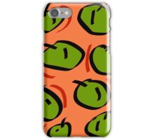 Techno LXII (2016) (Apples) iPhone Case/Skin
