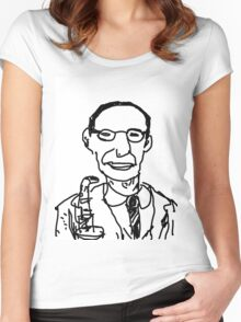 Soprano Sax Jazz Player Women's Fitted Scoop T-Shirt