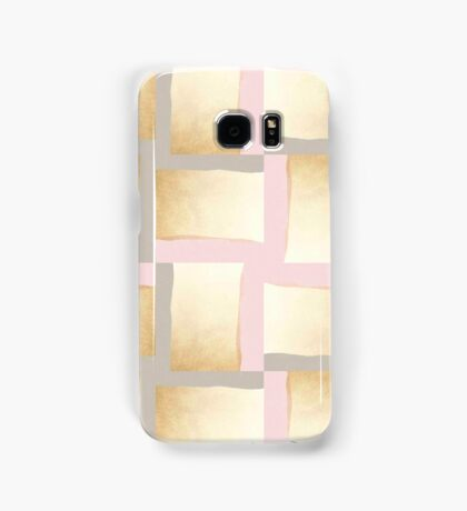 Pastels + Gold #redbubble #lifestyle Samsung Galaxy Case/Skin
