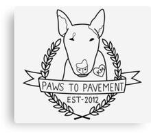 Paws To Pavement Dog Walking San Diego Canvas Print