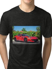 Ferrari F12 TDF Tri-blend T-Shirt
