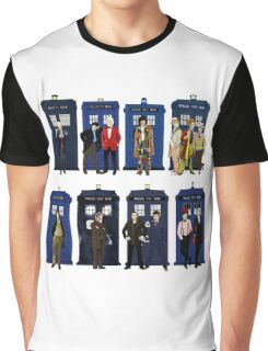 Doctor Who - Doctors & Tardises Graphic T-Shirt