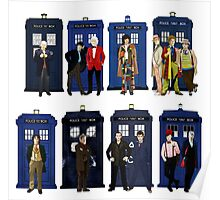 Doctor Who - Doctors & Tardises Poster