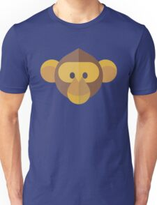 Monkey Face Icon Unisex T-Shirt