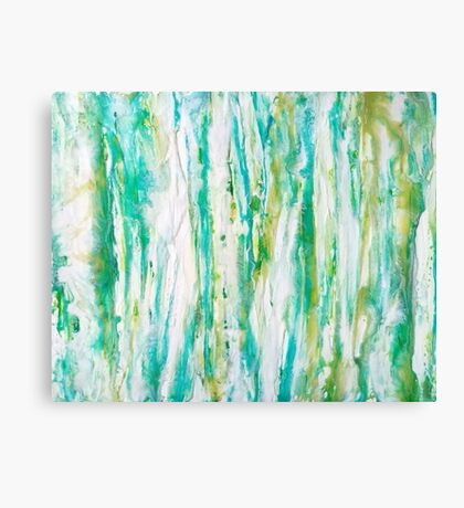 Flowing Rain Canvas Print