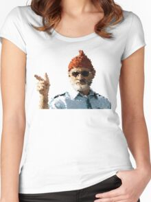Bill Murray - The Life Aquatic Women's Fitted Scoop T-Shirt