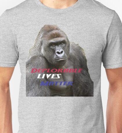 Deplorable Harambe :) Unisex T-Shirt
