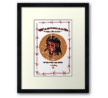 WAS - The Feral Kid Framed Print