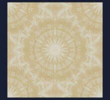 Peaceful kaleidoscope in beige One Piece - Short Sleeve