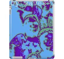 tasty waves and a cool buzz iPad Case/Skin