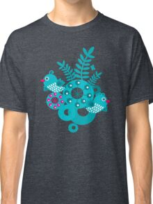Folk birds Classic T-Shirt