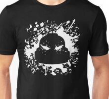 Headshot (white) Unisex T-Shirt