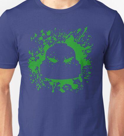 Headshot (green) Unisex T-Shirt