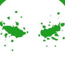 Headshot (green) Sticker