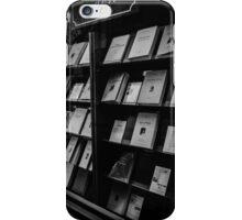 Paris bookshop window iPhone Case/Skin