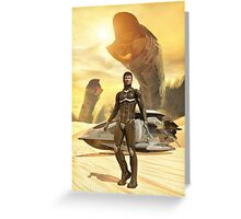 Dune Paul Muad'Dib Greeting Card